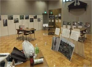 東京YWCAカフマンホールでの展示風景